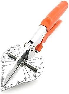 أدوات يدوية عبارة عن مقص ميتري متعدد الزوايا مع قابلية التعديل على 45 درجة يونيفرسال، مقبض من البلاستيك وقدرة على قص الأسل...