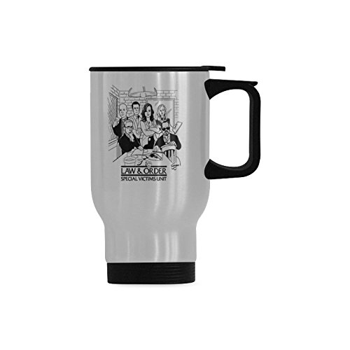 Law And Order: Special Victims Unit Travel Mug Stainless Steel 14 Ounce