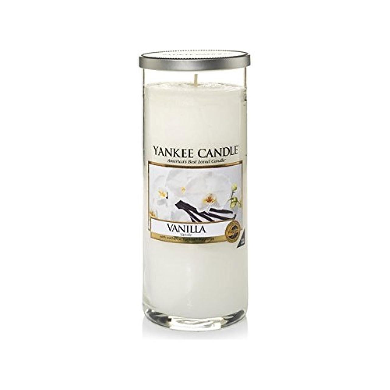 ガイドライン喜び記憶Yankee Candles Large Pillar Candle - Vanilla (Pack of 2) - ヤンキーキャンドル大きな柱キャンドル - バニラ (x2) [並行輸入品]