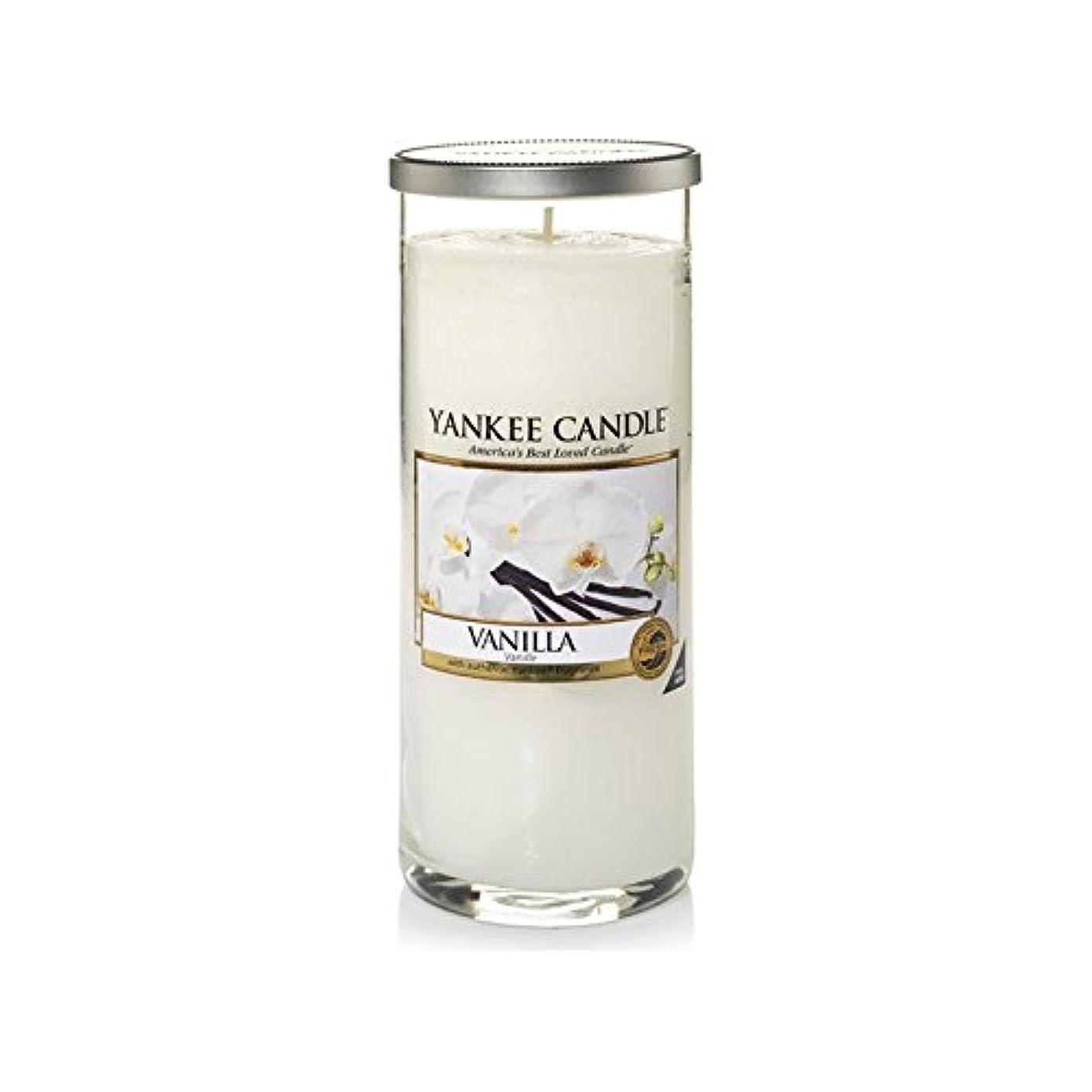 を除く構成どれでもYankee Candles Large Pillar Candle - Vanilla (Pack of 2) - ヤンキーキャンドル大きな柱キャンドル - バニラ (x2) [並行輸入品]