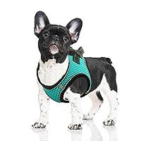 犬・猫用 ハーネス 猫胴輪 犬猫兼用ハーネス メッシュ 通気いい胸あて 軽量 咳込み防止 夜反射 脱走防