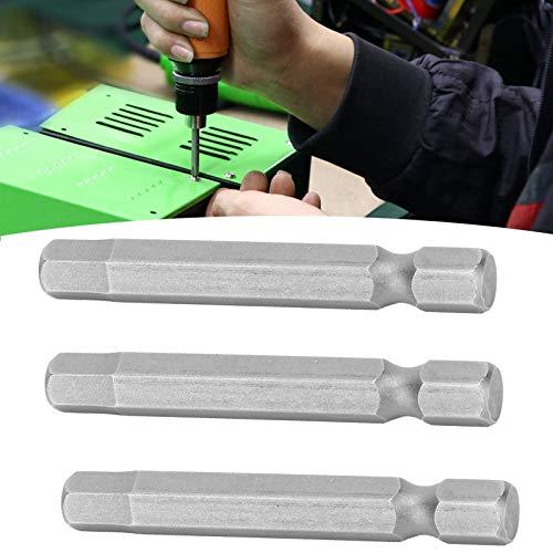 Puntas de destornillador hexagonal magnético, puntas de destornillador hexagonal de cabeza magnética 10 piezas para necesidades de reemplazo de destornilladores eléctricos