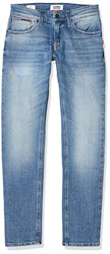 Tommy Jeans Herren SLIM SCANTON MCHL Straight Jeans, Blau (Michel Mid Bl Str 1a4), W32/L32