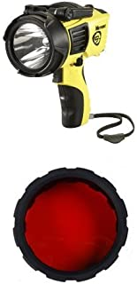 Streamlight Waypoint 1000-Lumens Spotlight with 120-Volt AC Charger, Yellow and Waypoint Rechargeable Filter