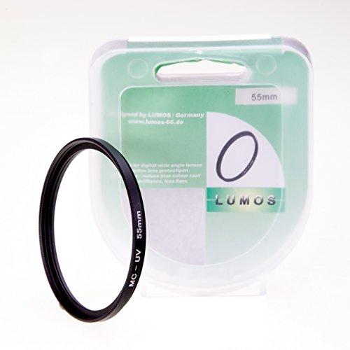 LUMOS Slim MC UV Filter 55mm - Objektiv Schutzfilter Kamera UV Objektivfilter 55 mm - Objektivschutz...
