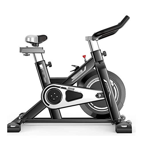 Cyclette casa Magnetic Bike Attrezzature for Il Fitness Coperta Tranquillo Allenamento aerobico Macchina Moto Sportive (Color : Black, Size : 110 * 55 * 100cm)