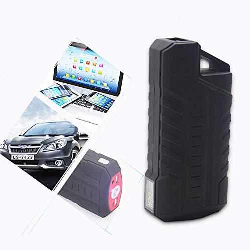 Preisvergleich Produktbild unknow Starthilfe - 600A Peak 12V Autobatterie-Booster (bis zu 6 l Benzin) Tragbares Starthilfe-Netzteil mit Schnellladung,  LCD-Bildschirm und LED-Taschenlampe