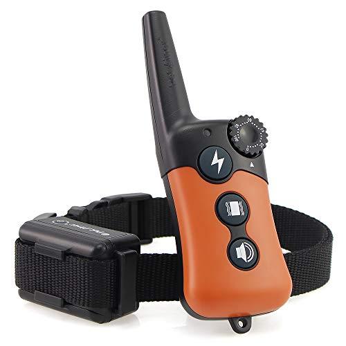 Ipets FilAnimal PET619 Original, 300 m für 1 oder 2 Hunde, 100 % wasserdicht – 3 Modi, einfache Handhabung, ergonomisch und klein. Original FilAnimal Verteiler A - mit 1 Empfänger