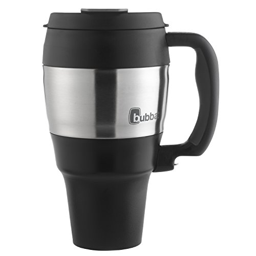 Bubba Classic Insulated Travel Mug with Handle, 34 oz., Black