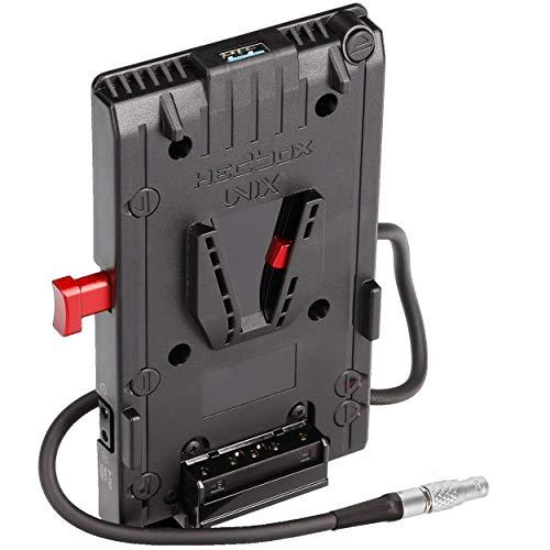 HEDBOX UNIX-0B - V-Mount Battery Adapter Plate, 3x D-Tap & USB, for Z-CAM E2-S6, E2-F6, E2-F8, E2-M4, E2C and TERADEK