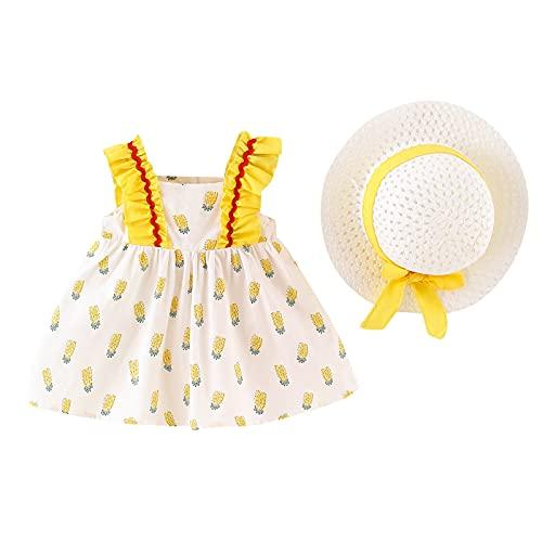 Keepwin Vestido Niña Verano Vestido Bebe Niña Vestidos Bautizo Bebe Niña Ropa De Bebe Recien Nacido Ceremonia Vestidos De Fiesta Niña Boda Vestido De Princesa para Niña Playeros