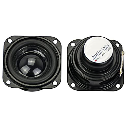 Wnuanjun 2 stücke Audio-Lautsprecher 1.5 Zinch 40mm 4Ohm 5w innerer magnetischer Bass Multimedia-Lautsprecher