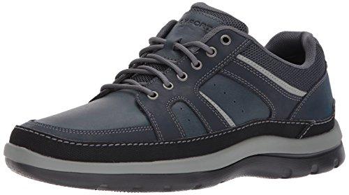 Rockport Men's Get Your Kicks Mudguard Blucher Fashion Sneaker, Navy, 11 M US