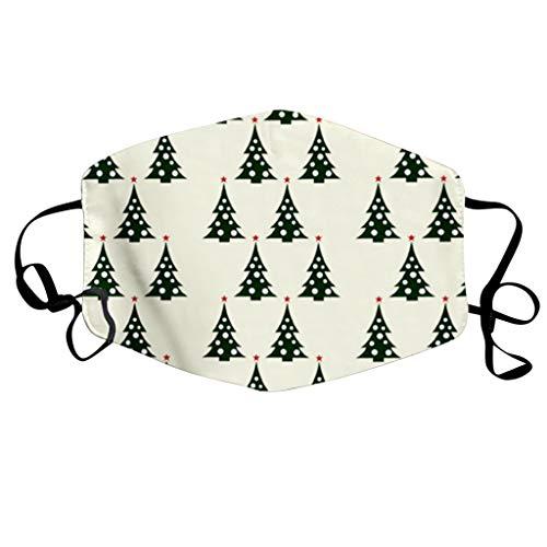 Bumplebee Damen Herren Mundschutz Weihnachten Waschbar Bunt Wiederverwendbar Mund-Nasen-Masken mit Motiv Atmungsaktiv Halstuch Bandana Mund und Nasenschutz Tuch