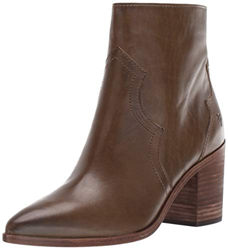 FRYE Women's Flynn Short Inside Zip Ankle Boot