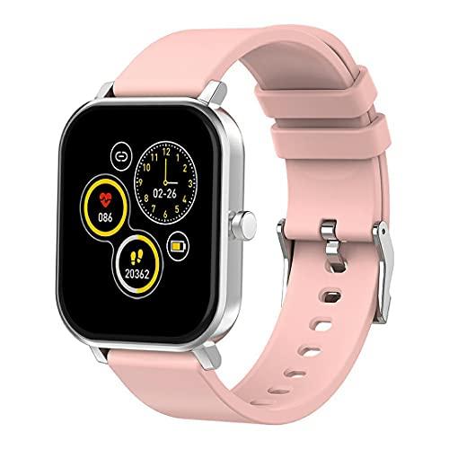 Uniqueheart S10 Smartwatch Pulsera electrónica con Pantalla de 1,69 Pulgadas Monitoreo de Actividad física Reloj Inteligente IP68 a Prueba de Agua