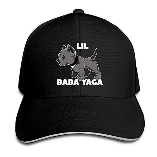 Overlooked Shop Lil Baba Yaga Trucker Gorra de béisbol Sombrero de sándwich con Pico Ajustable