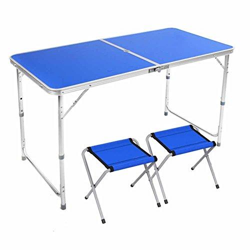 ZXL aluminium legering klaptafel en stoel tafel tafel schrijftafel barbecue tafel picknicktafel toerisme buiten parasol gat bordeauxrood wit blauw geel meubel