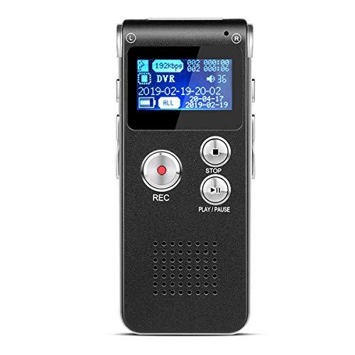 BIGFOX Grabadora de Voz Digital Portátil, Reproductor MP3 S