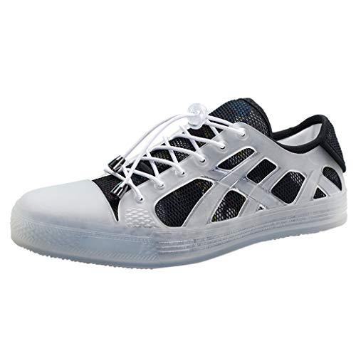 Rovnkd – Zapatillas de deporte para mujer, varios colores, casuales, cómodas, modernas Negro  42