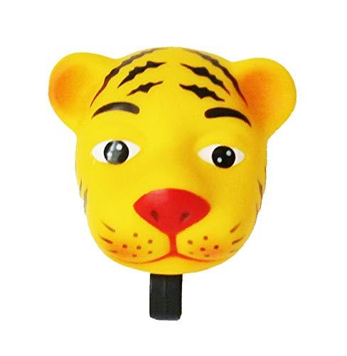 Anik-Shop FAHRRADHUPE fur Kinder Tier Fahrradklingel Fahrrad Trote Klingel Glocke Hupe 46 (Tiger)