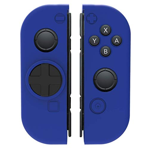 Collective Minds D-Grip Directional Pad & Silicone Cover- Blue - Nintendo Switch