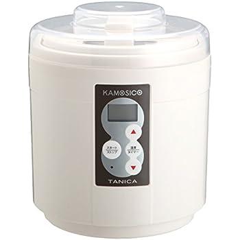 TANICA 醸壺(カモシコ) 温度調節(25~65℃) 発酵食メーカー 1200ml KS-12W