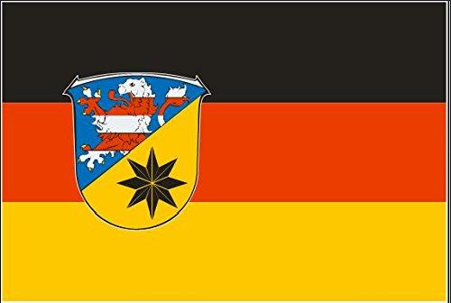 U24 Motorradflagge Flensburg Fahne Flagge 20 x 30 cm