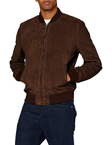 veste cuir leclerc