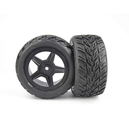 Hosim RC Car Wheel Pneumatici Accessori Ricambi 72-003 per G172 RC Car (2 Pezzi)