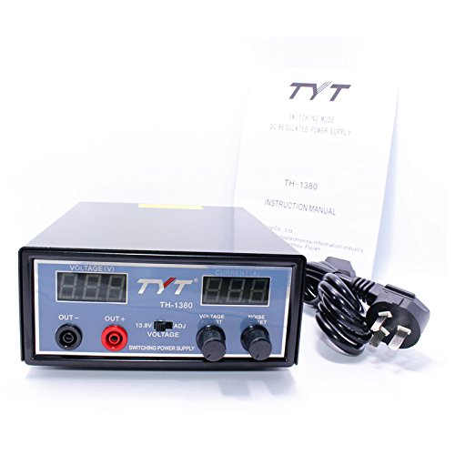 TYT Switching Mode DC Regulated Power Supply for TYT TH-9800 Plus TH-9000D TH-8600 Mobile Radio
