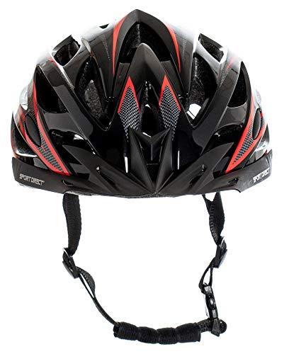 Sport Direct™ Herren Fahrradhelm Team Comp 24 Vent Graphit 58-61 cm CE EN1078:2012+A1:2012 - 2
