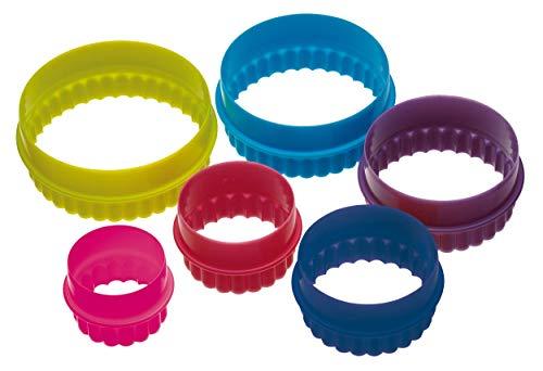 Kitchen Craft Lot de 6 emporte-pièces ronds