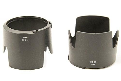 PROtastic HB-29 HB29 zonnekap, voor Nikon 70-200 mm f/2.8 G-AFS lens, 2 stuks