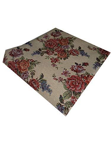 Schwerer Gobelin Stoff, 280 cm x 280 cm, geeignet zum Beziehen von Sofas, Stühlen, Tischen, Volants, (28)