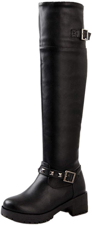 CularAcci Women Fashion Platform Engineer Boots