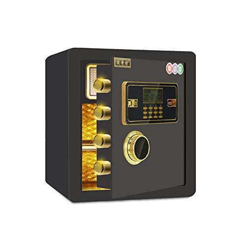 ZLQ Caja de seguridad Caja de seguridad electrónica, caja fuerte digital, caja fuerte de acero para oficina o casa montado en la pared (3 colores)