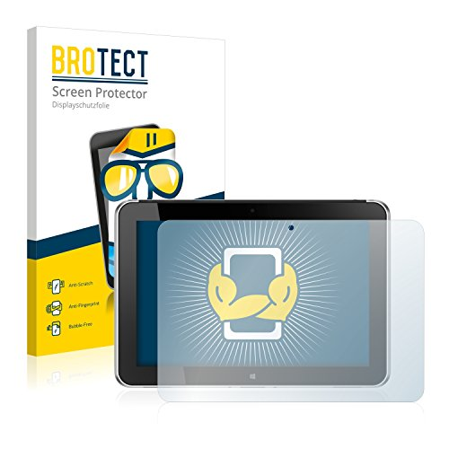 BROTECT Schutzfolie kompatibel mit HP ElitePad 1000 G2 (2 Stück) klare Bildschirmschutz-Folie