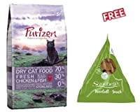 Purizon Sterilised 6.5kg is a premium complete food for adult cats of all breeds and sizes 70% carefully selected meat and fish ingredients 30% fruit, vegetables and herbs Reduced fat content to support ideal weight DL-methionine supports healthy uri...