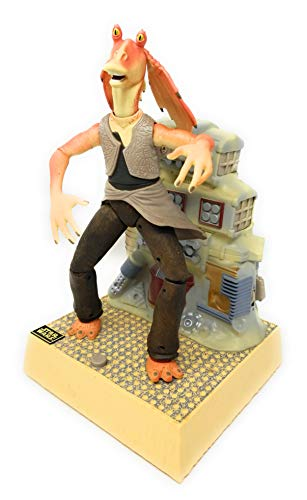 Star Wars Episode 1 Electronic Sound and Voice Activated 12 Inch Tall Action Figure - Dancing Jar Jar Binks