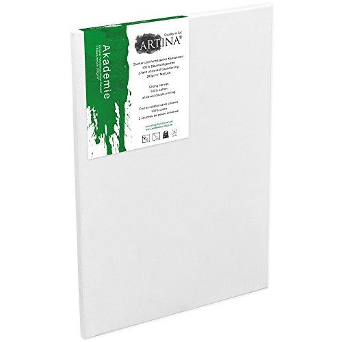 Artina Akademie - 60x90cm - Lienzo Blanco para Pintar - con Bastidor 280g/m²