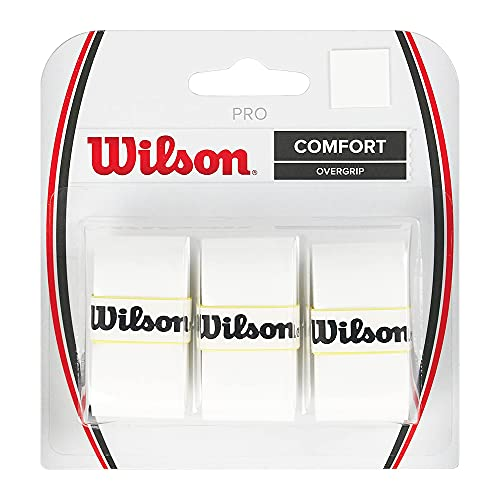 Wilson Pro Overgrip-Comfort 3 Pack. White
