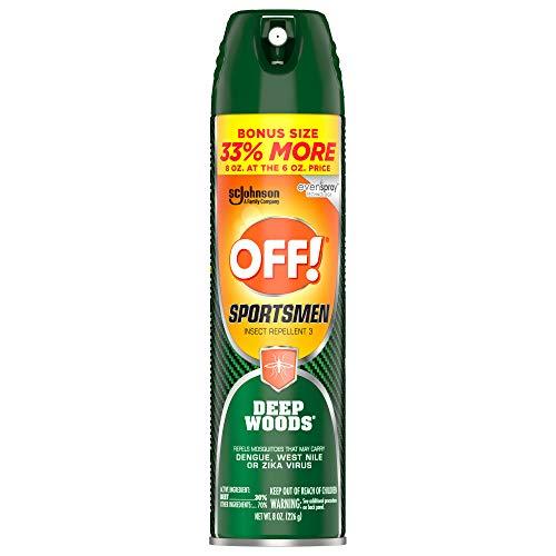 OFF! Deep Woods Sportsmen Insect Repellent II, 6 oz.