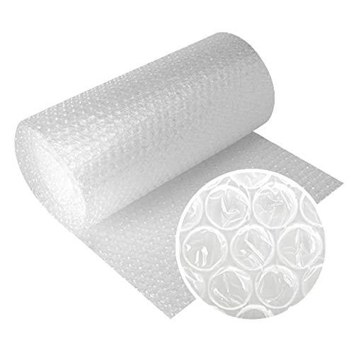 Papel burbujas embalaje, 【50 cm de ancho x 40 m lineales】, rollo de plastico de triple capa, mayor resistencia y durabilidad, ideal para acolchar y amortiguar cualquier producto.