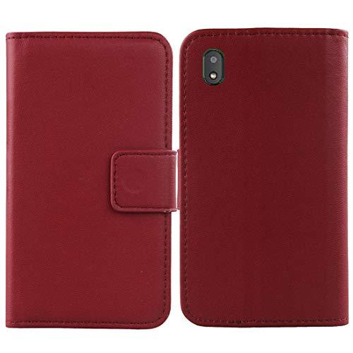 Lankashi Flip Echt Leder Tasche Für Gigaset GS110 6.1