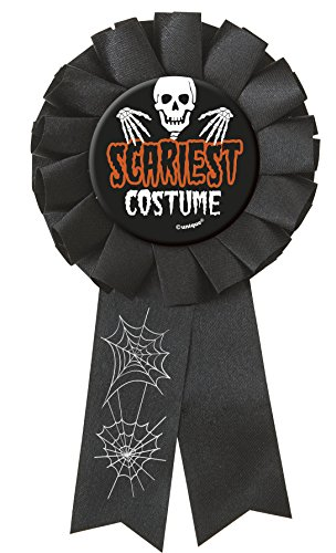 Halloween Party Scariest Costume Rosette