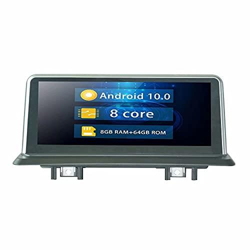 ROADYAKO Android 10.0 Indash Autoradio Stereo per BMW Serie 1 E81 E82 E87 2008 2009 2010 2011 2012 2013 2014 per BMW F20 F21 2011 2012 2013 Auto originale con sistema CIC Auto Stereo Radio GPS Navi