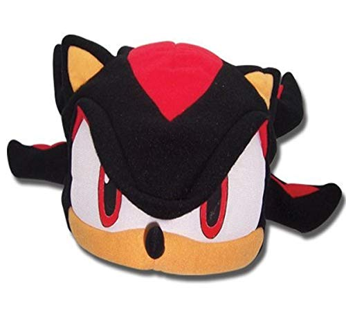 Great Eastern Sonic the Hedgehog Series: Shadow Fleece Cap,Black
