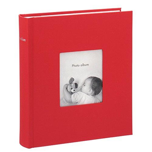 マークス ポストカードサイズ 200枚収納可 フォトフレームアルバム/コルソグラフィア/レッド CG-AL11-RE