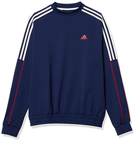 adidas USA Golf Pullover Sudadera de Cuello Redondo, Hombre, Azul Oscuro, M